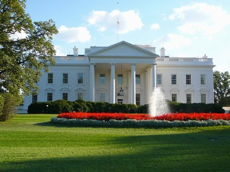 98DC - White house back.jpg (42403 bytes)